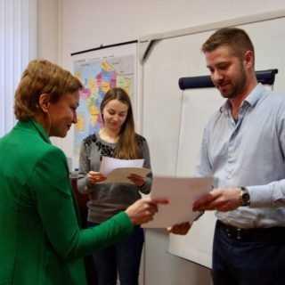 Вручение дипломов 2017